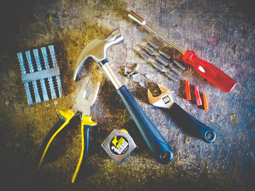 Variety Of Woodworking Tools